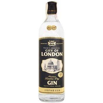Джин City Of London 40% 0.7л