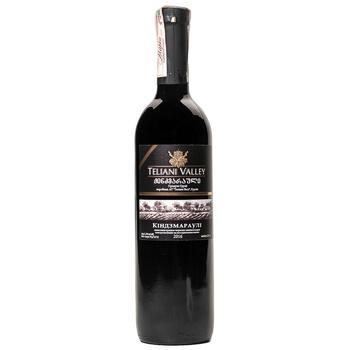Вино Teliani Valley Киндзмараули красное полусладкое 12.5% 0.75л