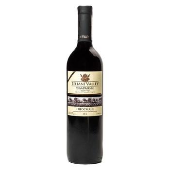 Вино Teliani Valley Пиросмани красное полусладкое 12% 0.75л