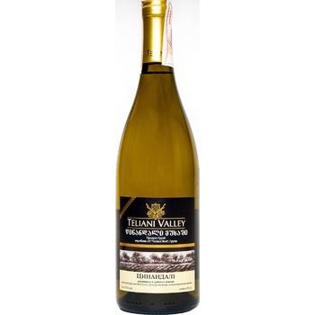 Teliani Valley Tsintsidali White Wine 12.5% 0.75l