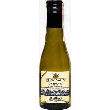 Вино Teliani Valley Цинандали біле сухе 13% 187мл