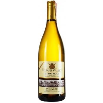 Вино Teliani Valley Вазісубані біле сухе 13% 0.75л