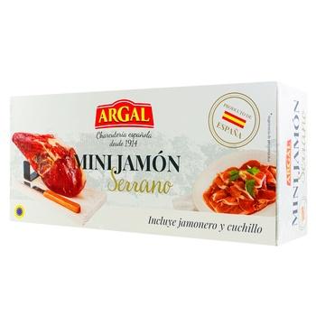 Міні Хамон Argal Serrano 1кг - купити, ціни на Ашан - фото 1