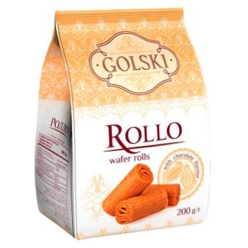 Печенье Golski Ролло со вкусом шоколада 200г