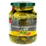 Helcom Cornichon Pickled Cucumbers with Chili Pepper 0,37l