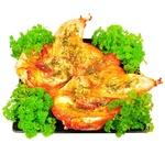 Курица под чесночным соусом