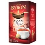 Черный чай Лорд Байрон Ассам Меджик индийский в пакетиках 25х1.8г