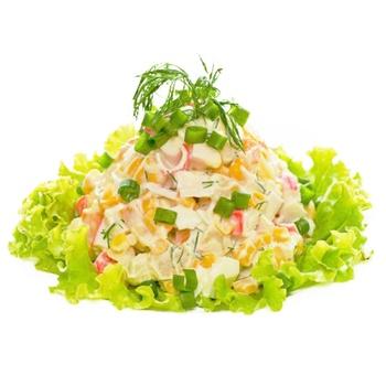 Салат з крабових паличок - купити, ціни на ЕКО Маркет - фото 1