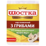 Shostka Processed Cheese with Mushrooms 37% 90g
