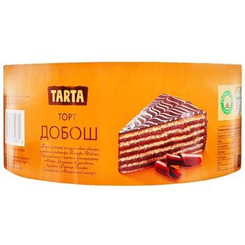Торт Tarta Добош бисквитный 500г