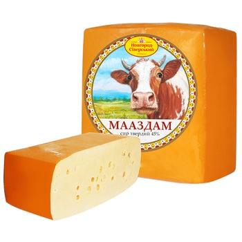 Сыр Новгород-Сиверский Мааздам 45%