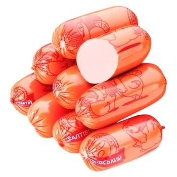 Сосиски СМК из мяса индеек высшего сорта
