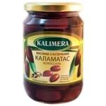 Маслини Kalimera Каламатас Колоссаль з кісточкою 121/140 720мл