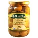 Оливки Kalimera Супер Маммут з кісточкою 91/100 720мл