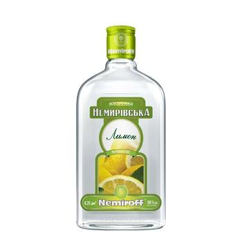 Настоянка Nemiroff Лимон 38% 0,25л - купити, ціни на CітіМаркет - фото 1