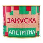 Pyatachok Appetizer Appetizing Canned Sterilized Meat with Food Additives 525g