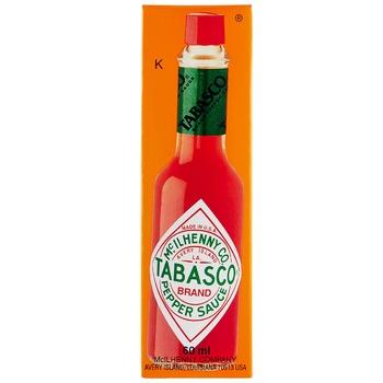 Соус Tabasco Pepper Sauce перцевий червоний 60мл - купити, ціни на Ашан - фото 1