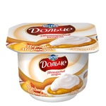 Dolce Peach-Passion Fruit Two-Layer Flavored Yogurt 3,2% 4pcs*115г