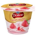 Dolce Strawberry Flavored Cottage Cheese Dessert 3,4% 200g
