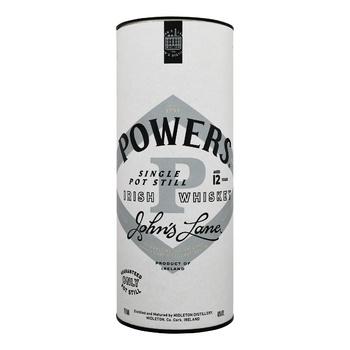 Виски Powers John's Lane 12 лет 46% 0.7л в коробке