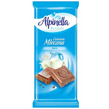 Alpinella Milk Chocolate 90g