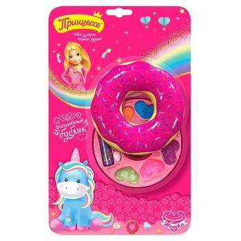 Набор косметики Принцесса Волшебный бублик для девочек - купить, цены на Ашан - фото 1