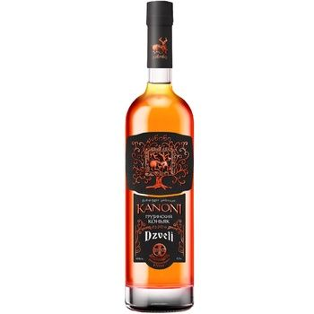 Kanoni 4 Yrs Cognac 40% 0.5l - buy, prices for CityMarket - photo 1