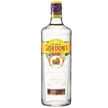 Джин Gordon's 37,5% 0,7л - купить, цены на Фуршет - фото 1