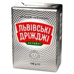 Дрожжи Львовские прессованные 100г