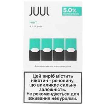 Картридж Juul Mint 5% 4шт