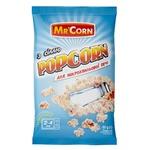 Попкорн з сіллю Mr'Corn для мікрохвильової печі 90г