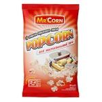 Попкорн Mr'Corn з маслом для мікрохвильової печі 90г