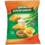 Кольца кукурузные Gonzo со вкусом лука 35г