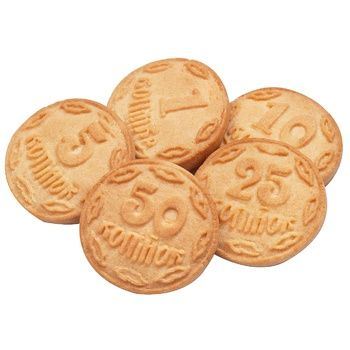 Discuit-Chocolate Coins Cookie - buy, prices for EKO Market - photo 1