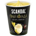 Scandal Pina Colada Frozen Dessert with Milk-based Liqueur 90g