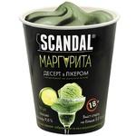 Десерт Scandal Маргарита с ликером на молочной основе замороженный 90г