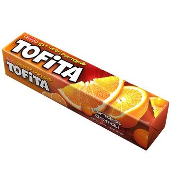 Конфеты жевательные Tofita Апельсин 47г - купить, цены на Пчёлка - фото 1