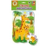 Vladi Toys Giraffes Magnetic Puzzle