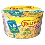Лапша Rollton яичная со вкусом сыра и зелени быстрого приготовления 75г