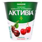 Біфідойогурт Danone Активіа вишня-черешня 2.5% 260г