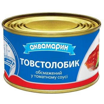 Толстолобик Аквамарин в томатном соусе 230г