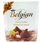 Цукерки The Belgian Truffles Hazelnut трюфельні 200г