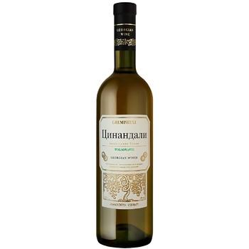 Gremiseuli Tsinandali White Dry Wine 12% 0,75l - buy, prices for CityMarket - photo 1