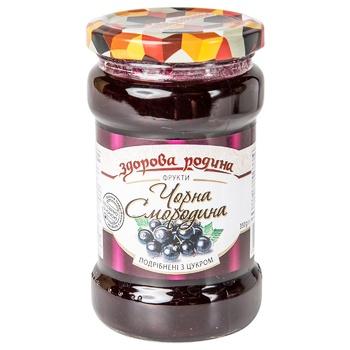 Zdorova Rodyna Black Currant 350g - buy, prices for CityMarket - photo 1