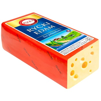 Ryki Edam Hard Cheese 45% - buy, prices for CityMarket - photo 1