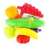 Іграшки Orion набір фруктів та овочів 8шт