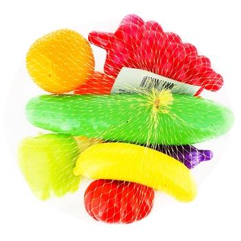 Игрушки Orion набор фруктов и овощей 8шт