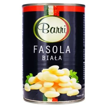 Фасоль Barri белая 0,425л