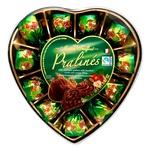 Конфеты Maitre Truffout Pralines молочный шоколад и ореховый крем 165г