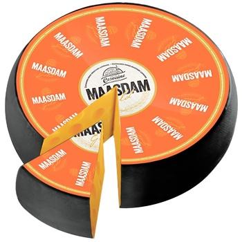 Cesvaine Maasdam Gold Hard Cheese 45% - buy, prices for CityMarket - photo 1